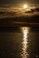 Saps... (.carleS) Tags: sea canon mar mediterranean alba amanecer mediterrneo mediterrani 60d caeduiker