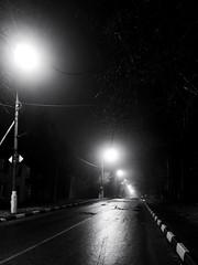 Ночь, улица, фонарь, туман. Бессмысленный и тусклый свет © (varfolomeev) Tags: russia 2015 россия nikonp340