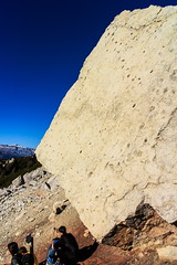 i Primi Escursionisti (Roveclimb) Tags: mountain holiday alps feet print hiking trail alpi montagna footprint dinosaurs vacanza dolomiti cadore pelmo escursionismo dinosauro orma montepelmo