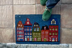 welcome home (L C L) Tags: verde feet boots pies botas bienvenido volver 2015 felpudo lcl comingback nikon90 loretocantero welcomen