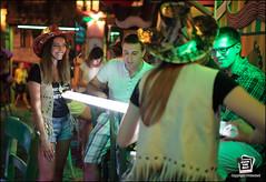 A typical Belgrade evening (Jack the Hat Photographic) Tags: street girls art public bar night 35mm evening lowlight pub cowboy f14 candid serbia drinking hats sigma nightlife belgrade 5d2