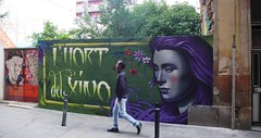 (sendys) Tags: barcelona graffiti mural rice streetartbcn sendys difusor openwalls hortdelxino openwallsconference2015