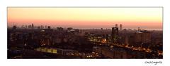 Visata de BCN--01 (cesceguia) Tags: barcelona amanacer sortidasol