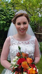 """Bride Kay hair and make-up • <a style=""""font-size:0.8em;"""" href=""""http://www.flickr.com/photos/36560483@N04/23428526759/"""" target=""""_blank"""">View on Flickr</a>"""