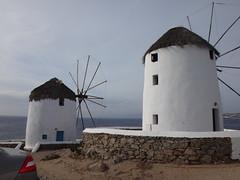 Los molinos de viento. Chora. Isla de Mikonos. Grecia (escandio) Tags: 3 grecia chora mikonos 2015 cicladas islademikonos