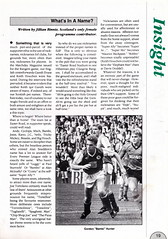 Hibernian vs Clydebank - 1989 - Page 19 (The Sky Strikers) Tags: hibernian hibs clydebank skol cup road to hampden easter matchday magazine one pound