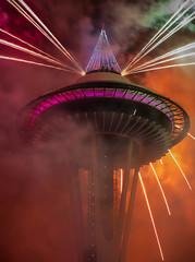 0N7A0226.jpg (Mike Livdahl) Tags: 2017 fireworks newyears seattle spaceneedle