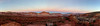 Capitol Reef Sunset Panorama (au_ears) Tags: utah waterpocketfold sunset panorama splitcolor sunsetpt capitolreef 2016 thecastle bluehour navajoknobs