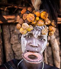 Etiopia (mokyphotography) Tags: etiopia mursi etnia ethnicity woman donna people persone portrait ritratto