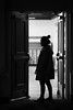 The auditorium full of memories. (Yuenan118) Tags: blackandwhite her door canon zeiss