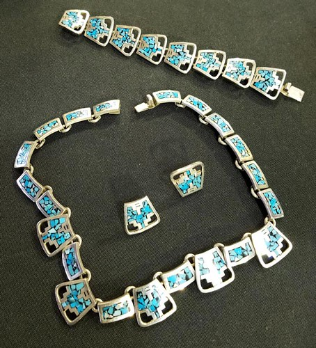 Mexican Sterling Jewelry Set ($156.80)