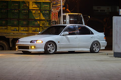 Darkness Overloaded. (drift.pking) Tags: honda civic low life slammed jdm wow white beautiful me mehh love photography photographer dk dkphotography automotive automotivephotography