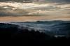 bruma sopita 2 (Giulio Mazzini) Tags: landscape panorama siena tuscany toscana crete senesi asciano verde green bruma