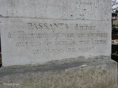 Cimetière du Père-Lachaise (Fontaines de Rome) Tags: paris cimetière pèrelachaise père lachaise tombe jean louis raoul