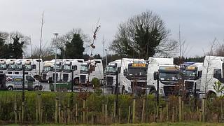 7cdb09c4610de2 New DHL Volvos for Irish Tesco Contract. Irish Commercials Naas