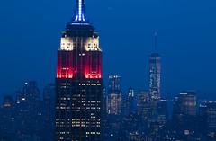 NH0A6269s (michael.soukup) Tags: newyork newyorkcity skyline manhattan empirestate worldtradecenter cityscape sunset dusk skyscraper citylights architecture midtown rockefeller 30rock tower bluehour nyc building