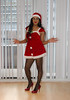 Merry Christmas ♥ (Natassia Crystal) Tags: tgirl transgender crossdresser merry christmas happy holidays miss santa red high heels