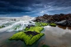 Green Calblanque (Paco Conesa) Tags: calblanque sea maritima green rocks mediterraneo murcia paco conesa canon storm spain