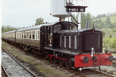 11216 Buckfastleigh 190502 (AlanTaitRailwayArchive) Tags: 11216 buckfastleigh sdr