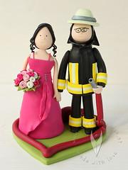 The World S Best Photos Of Feuerwehr And Hochzeitstortenfigur