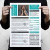 Blue Clean Resume – Free PSD Template (psdmarket) Tags: business clean creative cv editable freepsd job modern professional psd resume stationary template