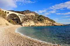 La Calanque des Eaux Salées (Bernard Bost) Tags: 2017 canon france paca provence bouchesdurhône laredonne calanque mer méditerranée mediterranean plage beach