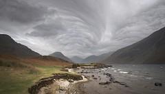 Wastwater Turbulent sky (paulypaulpaul1) Tags: turbulence moody wastwater cumbria lakedistrict pentaxk5 cloudy pentax k5 asperatus undulatusasperatus