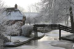Winter (NLHank) Tags: caonon eos 7d eos7d nlhank winter rijp nederland netherlands holland wieden giethoorn