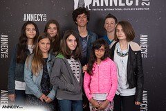 Le Jury junior 2016 (Festival international du film d'animation-Annecy) Tags: 2016 2mardi annecy dédicace festival international du film danimation grande salle projection
