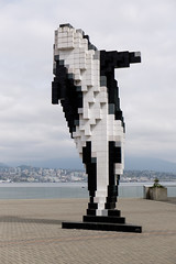 The Digital Orca (_Codename_) Tags: vancouver britishcolumbia bc digitalorca statue whale orca vancouverconventioncentre