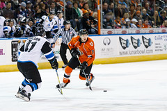 "Missouri Mavericks vs. Wichita Thunder, February 4, 2017, Silverstein Eye Centers Arena, Independence, Missouri.  Photo: John Howe / Howe Creative Photography • <a style=""font-size:0.8em;"" href=""http://www.flickr.com/photos/134016632@N02/32753146605/"" target=""_blank"">View on Flickr</a>"