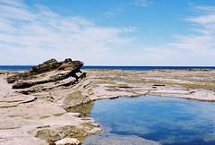 Rockpools (Katie Tarpey) Tags: rockpools victoria australia inverloch sea ocean seascapes water summer film fujisuperiaxtra400 nikonfm10 nikkor50mm14