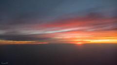 Departing VOBL at sunset (faram.k) Tags: aerial aeroindia2017 vobl windowseat