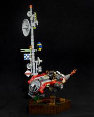 LSB - Vastlands Cross (FelipeAvelar) Tags: lsb lego speeder postapoc