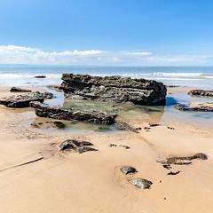 Dunraven Bay (carolrowlands) Tags: rockpools valeofglamorgan dunravenbay heritagecoast southerndown beach coast seascapes