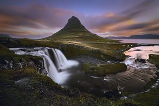 Kirkjufell Islande