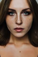 Valery (valeriezabosina) Tags: valeriezabosina portrait photoshoot freckles girl be beauty brunet best brown face lips lighteyes love perfect saintpetersburg