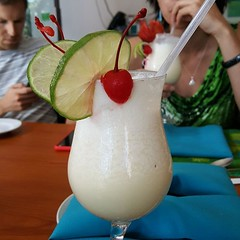 Time to queue up the Pina Colada Song. I lost track of how many I had.