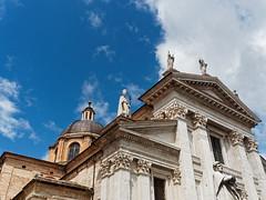 Duomo di Urbino (Claudio IT) Tags: italy italia olympus unesco chiesa urbino duomo marche facciata santamariaassunta piazzaducafederico