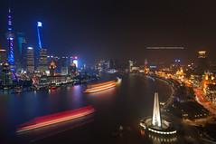 night city(The Bund,Shanghai,China) (Davis_Xin) Tags: