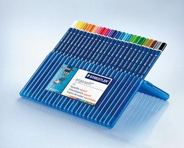 ステッドラー エルゴソフトシリーズ色鉛筆の写真