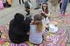The Gorillas by Creature Feature (Júlia Júlia Hoffmann) Tags: streetperformance gorillas foolsparadise creaturefeature