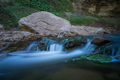 Go with the flow (phuviano) Tags: longexposure bw ontario nature water rocks sony hamilton 1635 a7ii websterfalls nd110 10stopper fe1635
