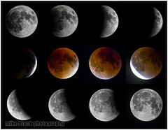 Total lunar Eclipse Canon 1D-X + 800mm f/5.6 (Mike Black photography) Tags: new nyc autumn red sky usa moon white black art beach mike nature night canon dark lens photography eclipse photo body space nj shore jersey total lunar 800mm 1dx