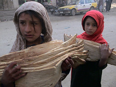 The Bread Sellers, Kabul, Afghanistan
