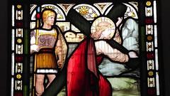 Saint Michael & All Saints 012 (byronv2) Tags: building history church window architecture edinburgh religion stainedglass kirk tollcross doorsopenday broughamstreet edimbourg saintmichaelandallsaints doorsopenday2015 rrowandanderson