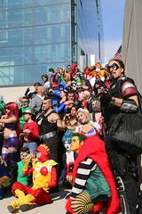 New York Comic Con 2015 - DC (Rich.S.) Tags: new york dc comic shot cosplay flash group superman harley convention batman quinn joker comedian con 2015 nycc