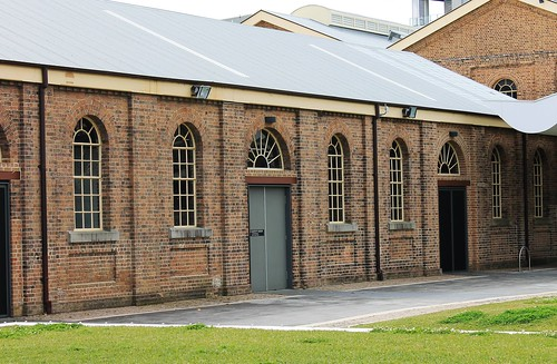 Former railway workshops, Newcastle, Australia
