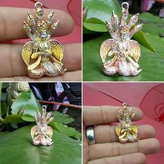 จี้พระนางมาริษา เนื้อเงินแท้ ชุบสามกษัตริย์  สนใจติดต่อสอบถาม LINE ID : ninetyJewel  #เครื่องประดับ #พญานาค #เพชรพญานาค #แหวน #กำไล #จี้ #เงิน #เครื่องเงิน #jewelry #ring #เพชร #ทอง #925 #gold #silver #ลงยา