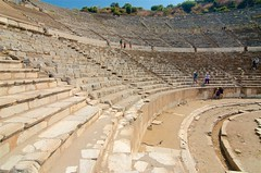 Ephesus Theater (hecticskeptic) Tags: turkey ephesus libraryofcelsus templeofhadrian bouleuterion nymphaeumtraiani markamorgan